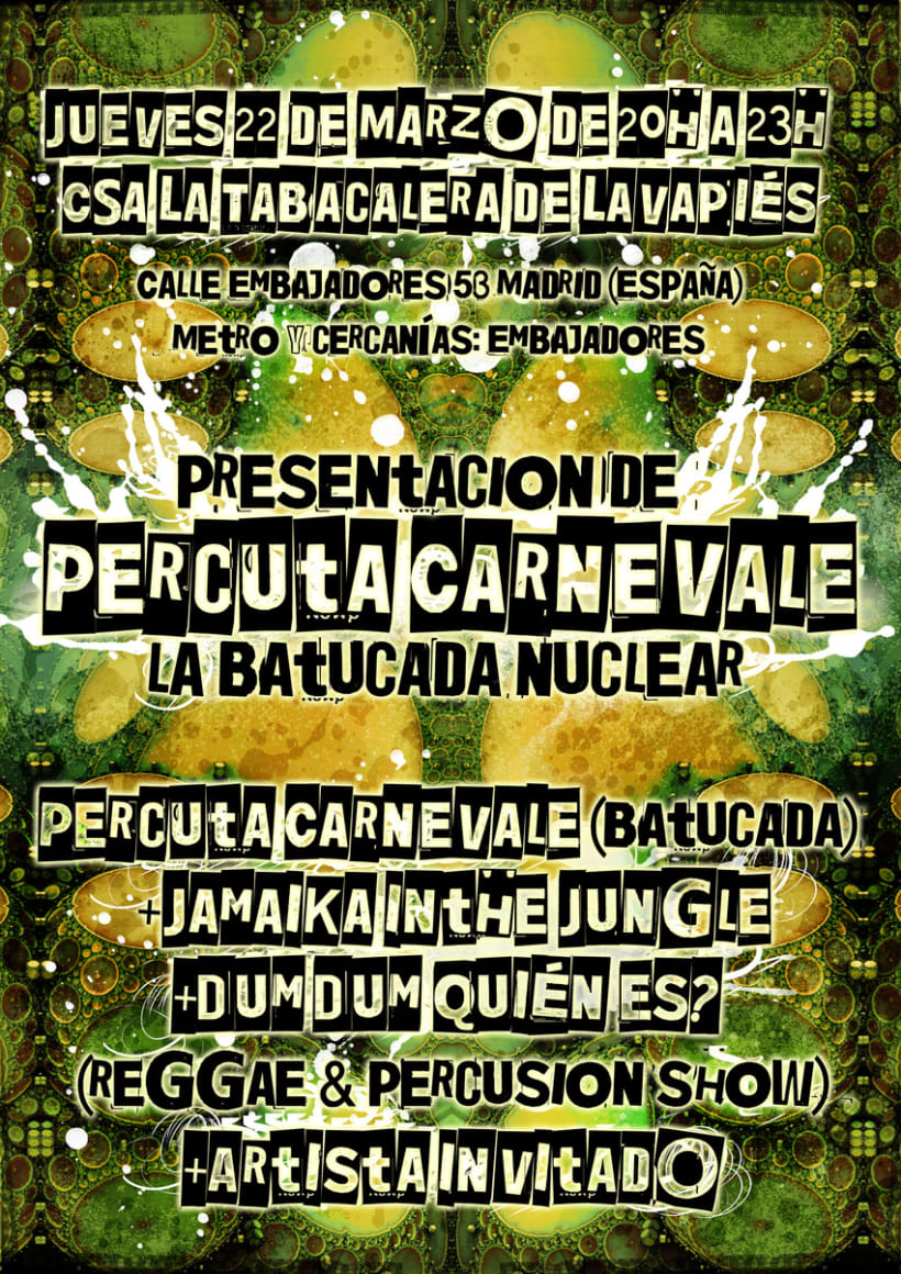 Carteles Jamaika in the Jungle 11