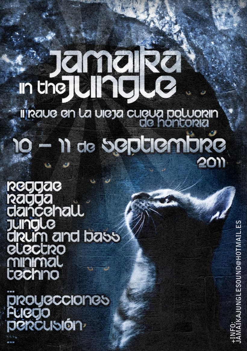 Carteles Jamaika in the Jungle 2