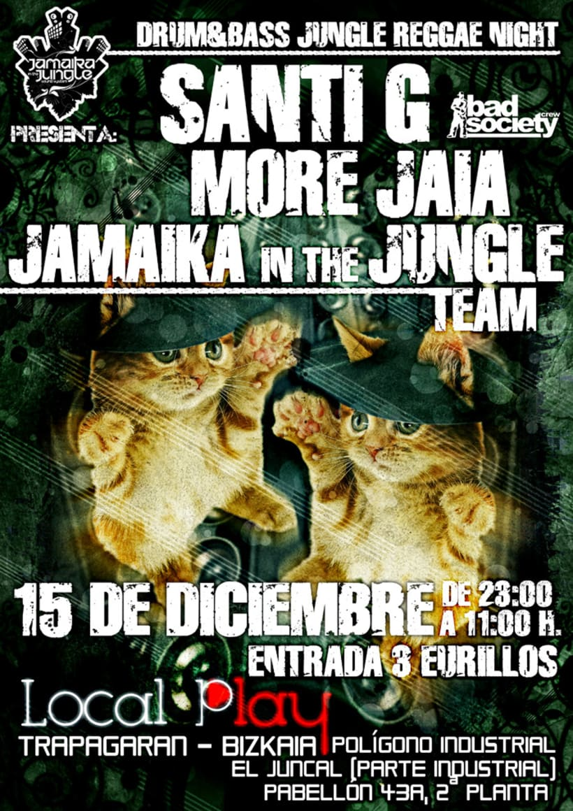 Carteles Jamaika in the Jungle 1