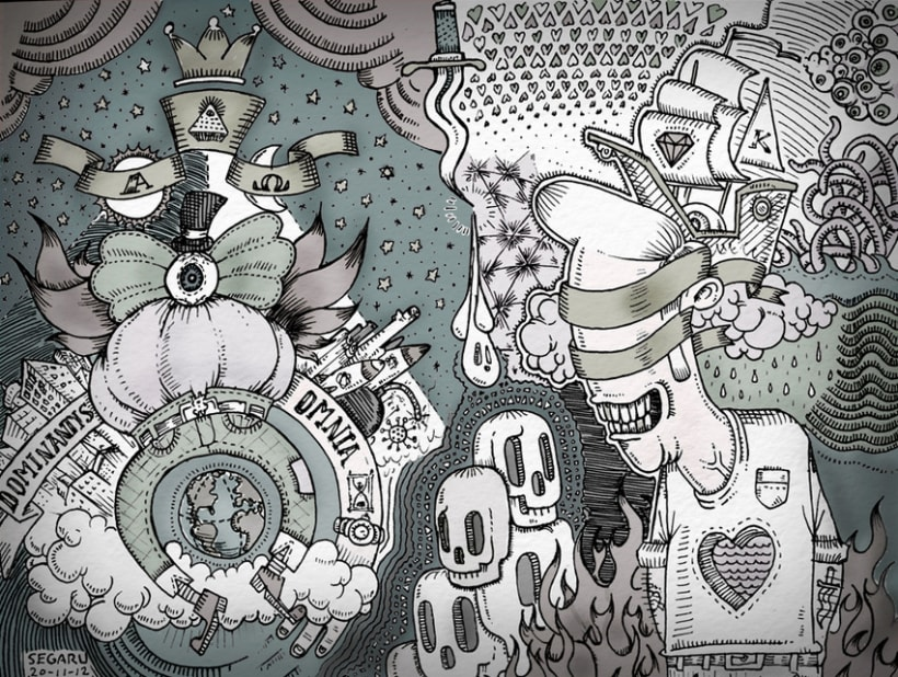 Ilustración Illuminati 1