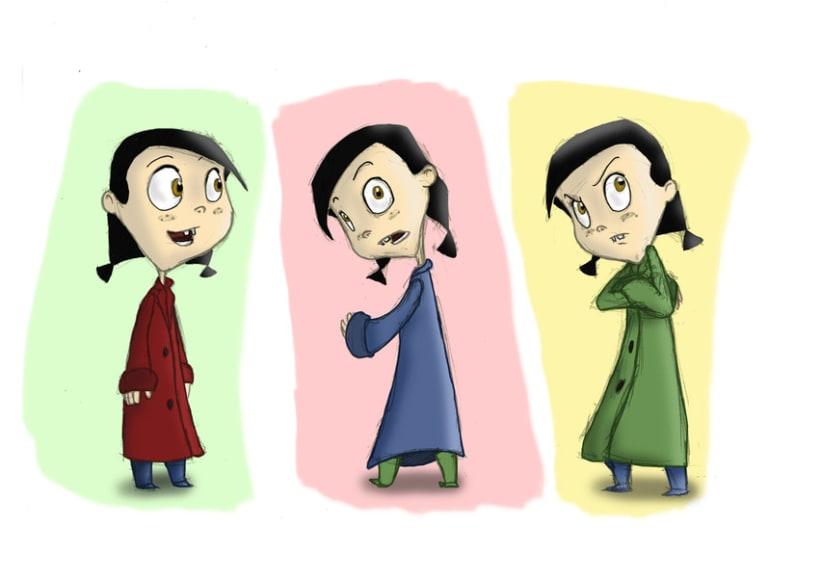 GIRL : CHARACTER DESIGN 2012 3