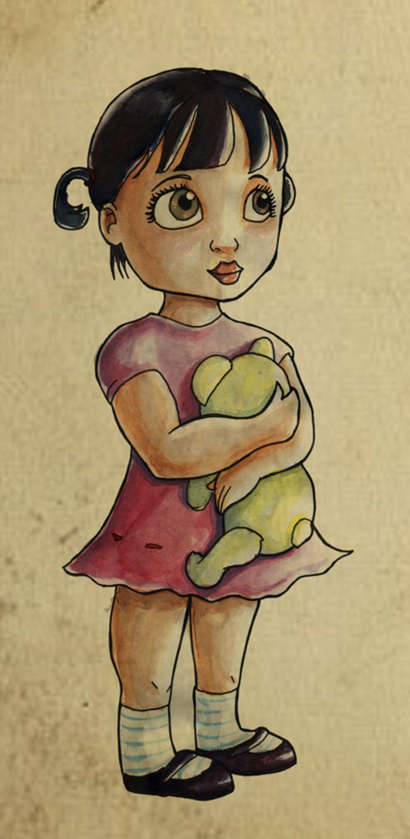 GIRL : CHARACTER DESIGN 2012 1