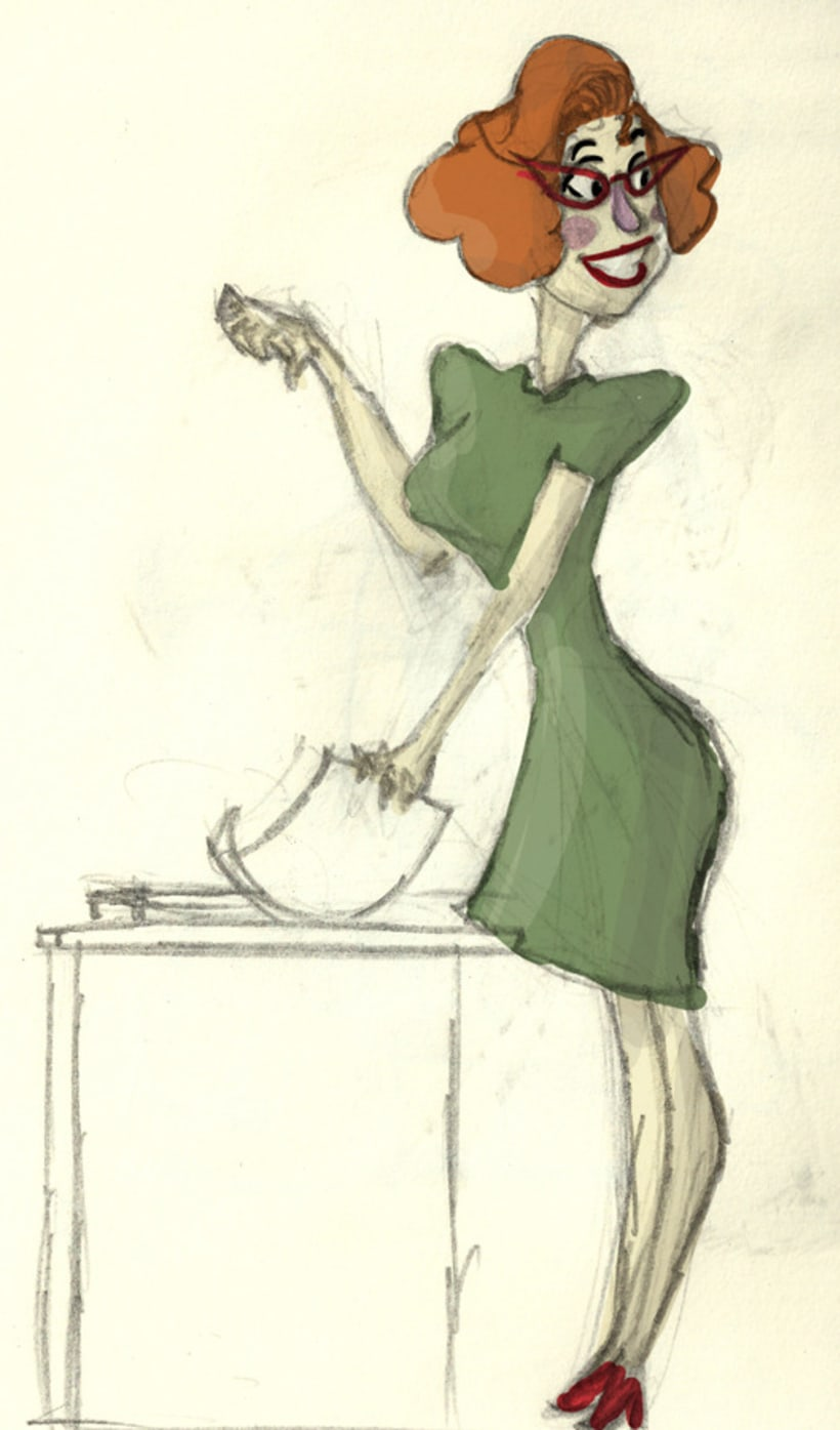 WOMAN - CHARACTER DESIGN 2012 6
