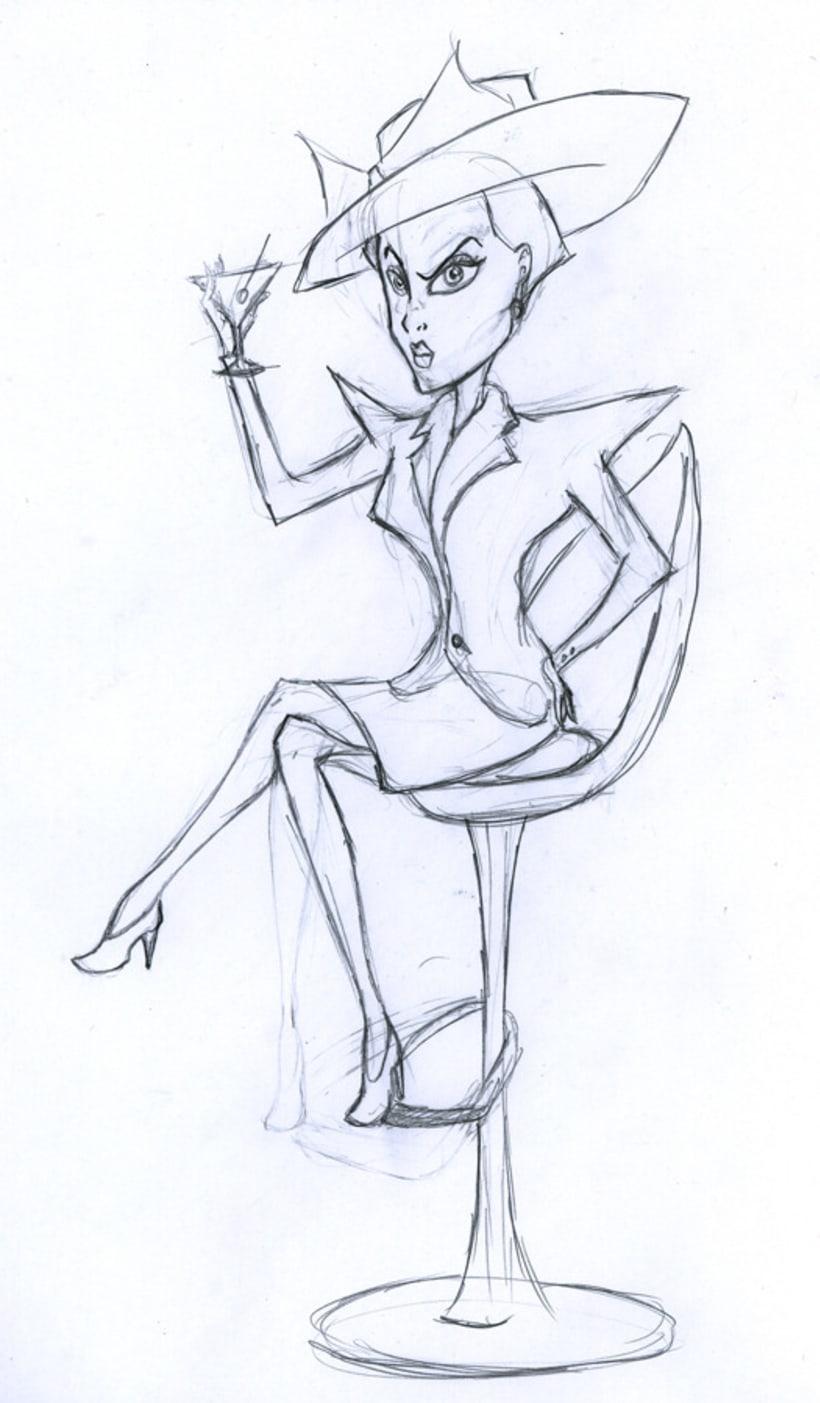 WOMAN - CHARACTER DESIGN 2012 5