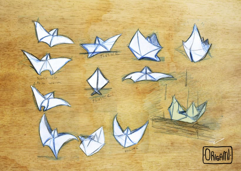 ORIGAMI - CHARACTERS 4