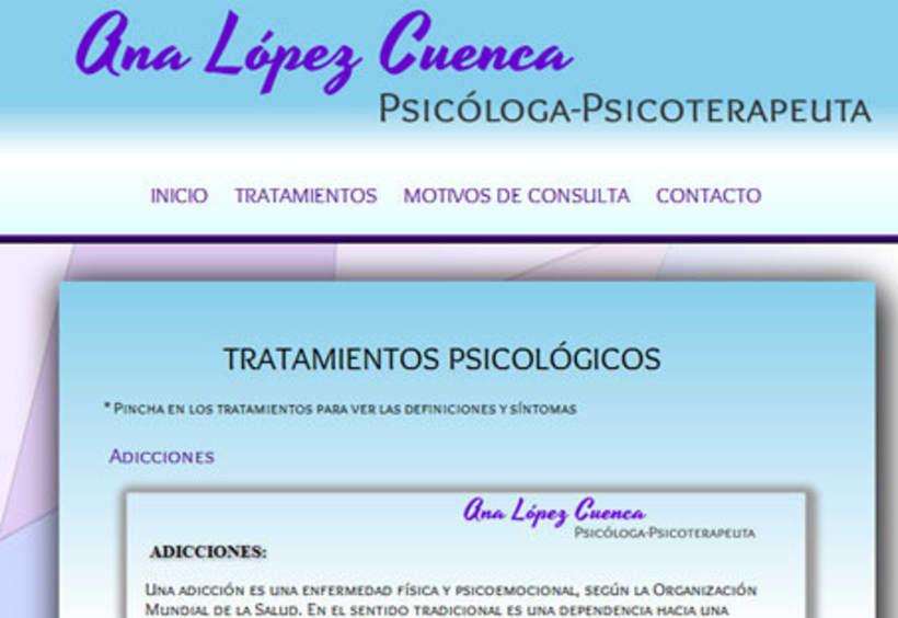 Psicóloga-Psicoterapéuta Ana López 1