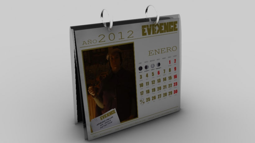 """Proyecto Evidence"" Objetos 3d 7"