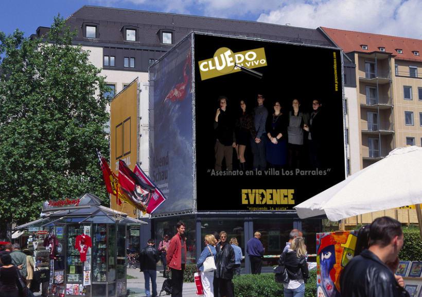 """""""Proyecto Evidence"""" Cartelería 5"""