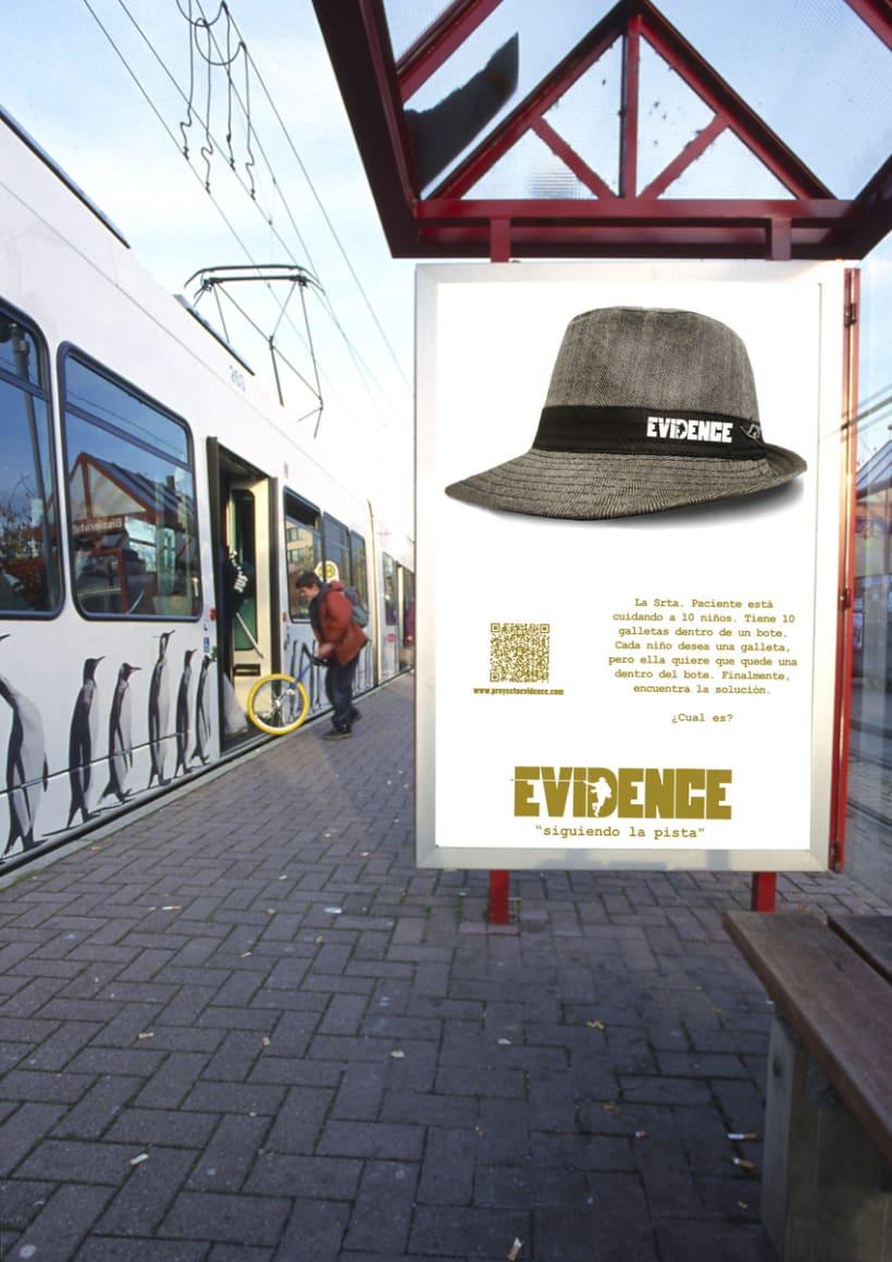 """""""Proyecto Evidence"""" Cartelería 4"""