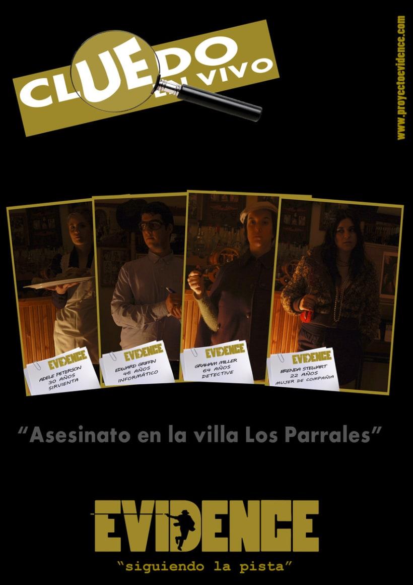 """""""Proyecto Evidence"""" Cartelería 3"""