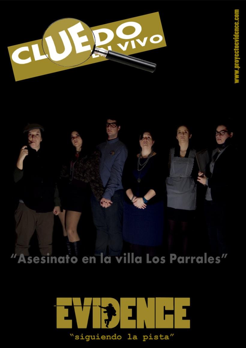 """""""Proyecto Evidence"""" Cartelería 2"""