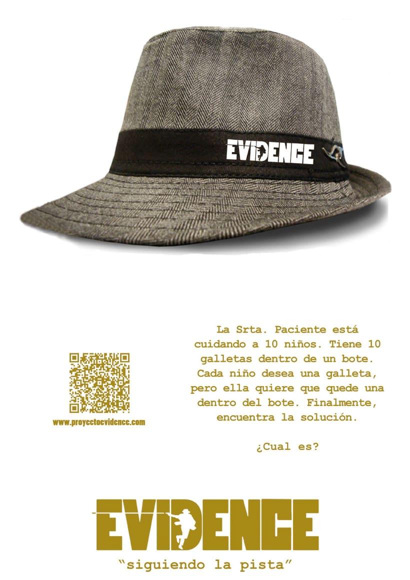 """""""Proyecto Evidence"""" Cartelería 1"""