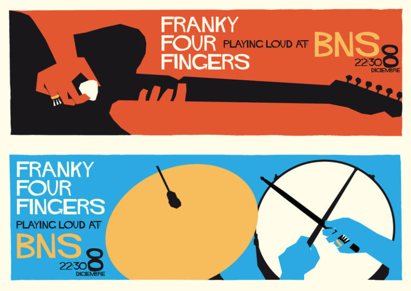 Franky Four Fingers live! 2