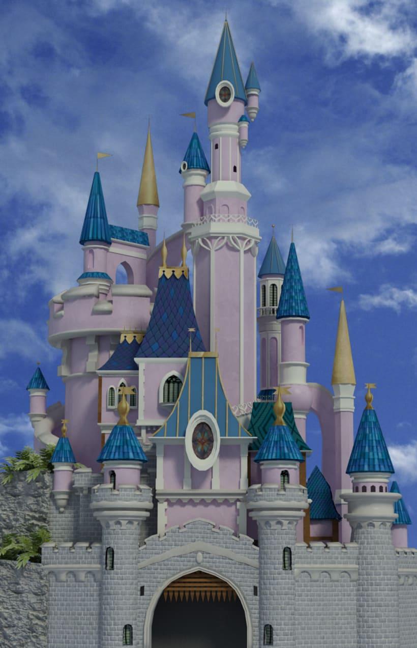 Castillo Disneyland 1