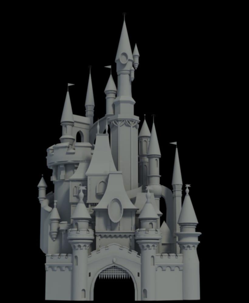 Castillo Disneyland 2