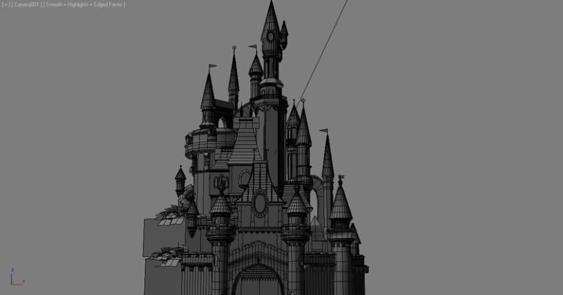 Castillo Disneyland 3