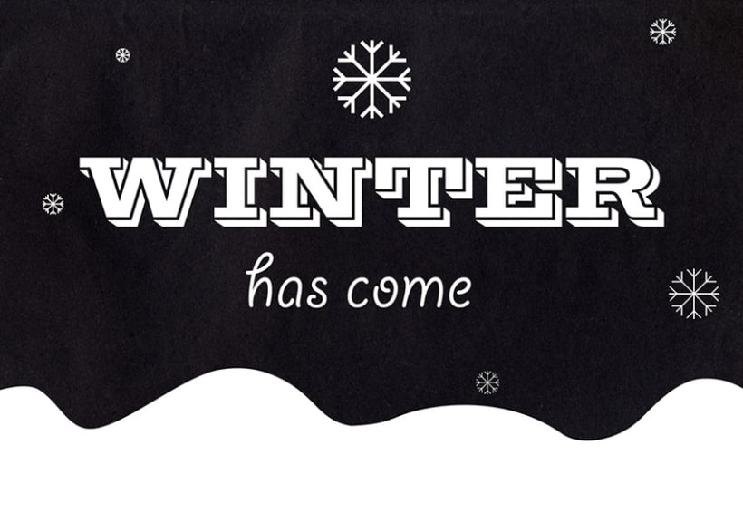 Winter (has come) 1