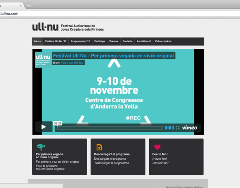 Festival Ull-Nu website 2012 2