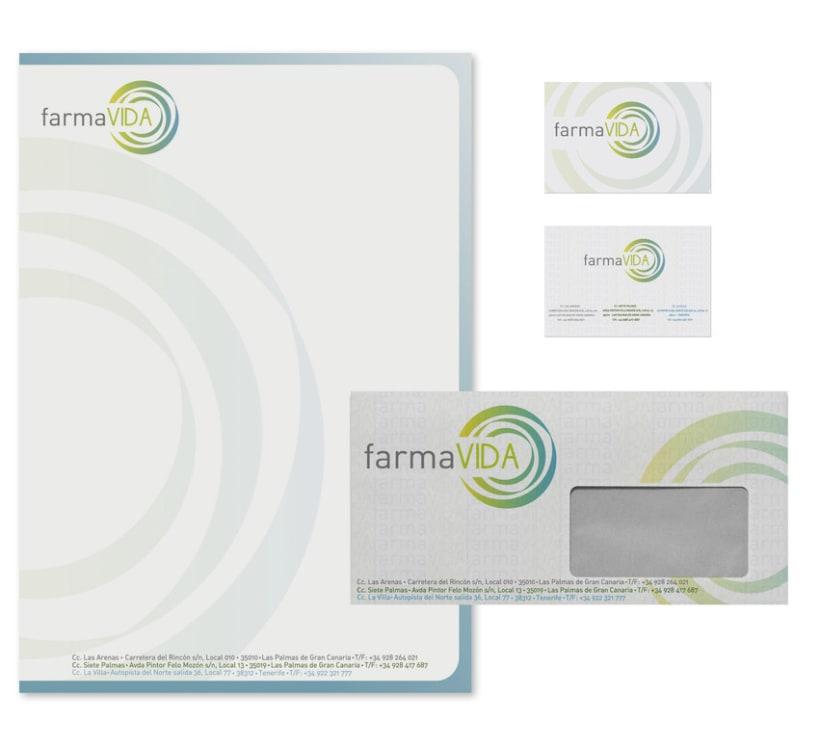 Papelería Corporativa Farmavida 2