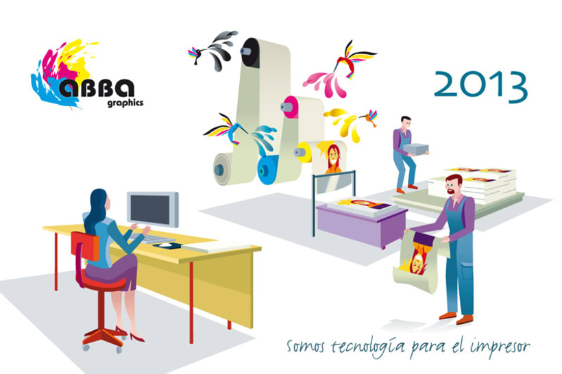 Calendario ABBA Graphics para 2013 1