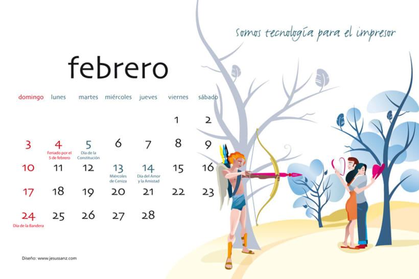 Calendario ABBA Graphics para 2013 3