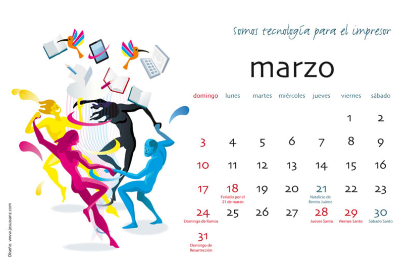 Calendario ABBA Graphics para 2013 4