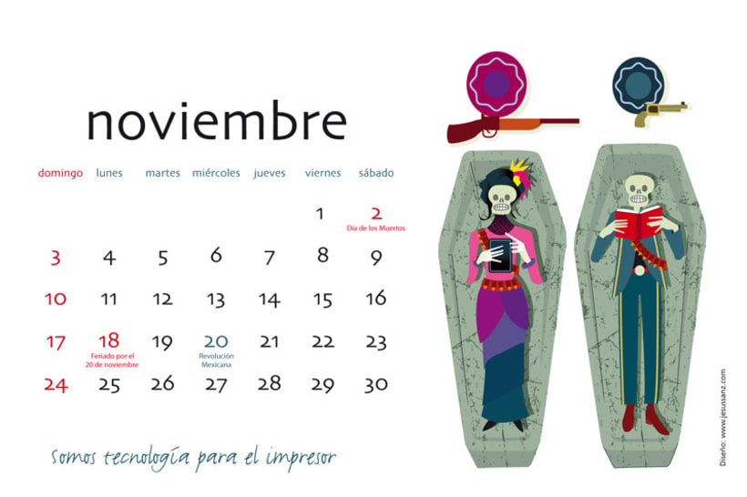 Calendario ABBA Graphics para 2013 12