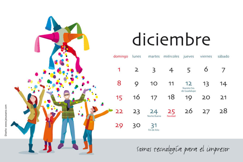 Calendario ABBA Graphics para 2013 13
