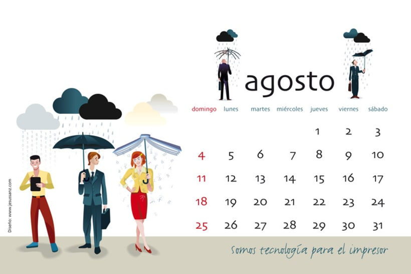 Calendario ABBA Graphics para 2013 9