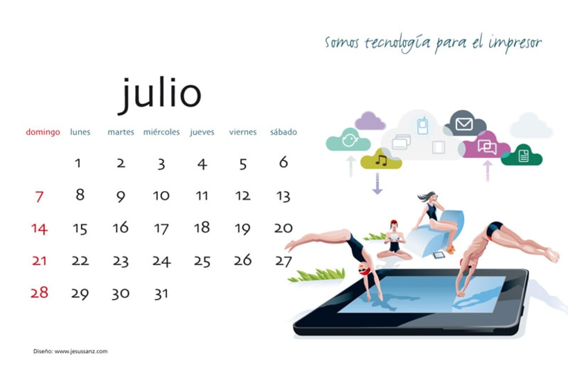 Calendario ABBA Graphics para 2013 8