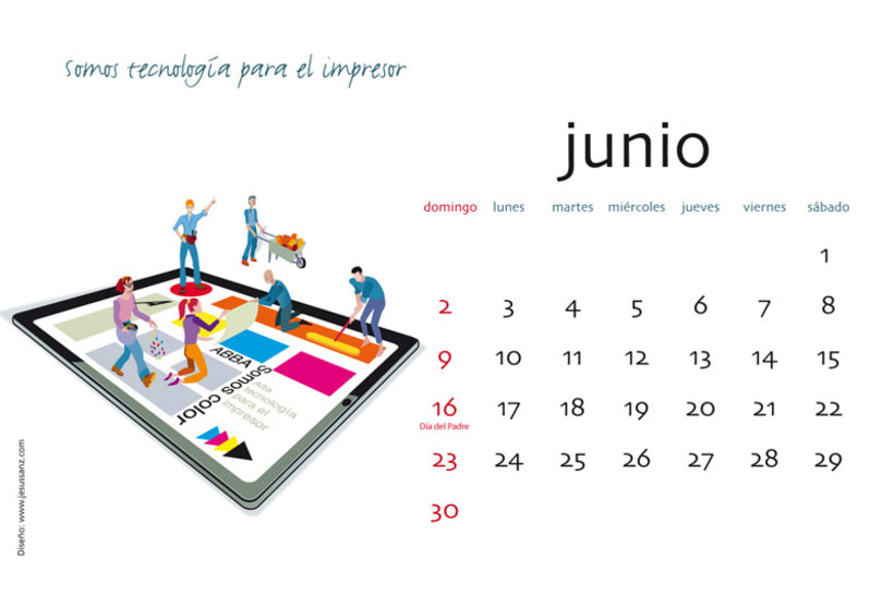 Calendario ABBA Graphics para 2013 7