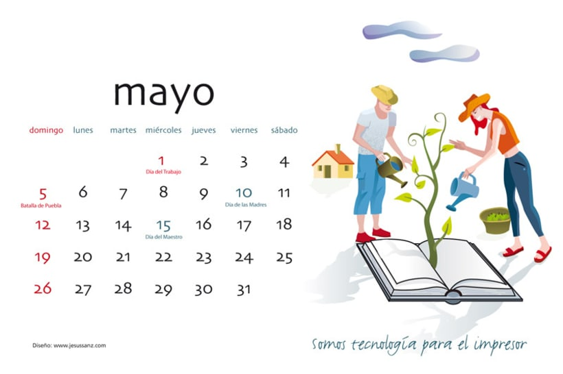 Calendario ABBA Graphics para 2013 6