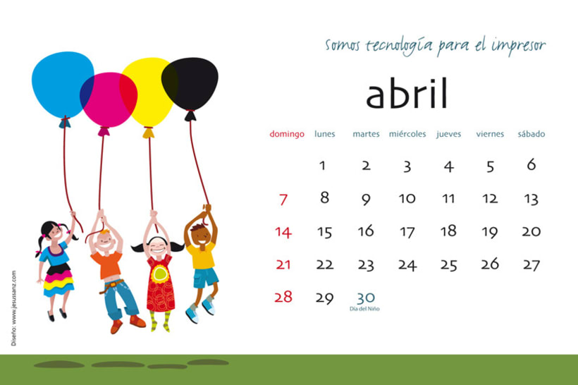 Calendario ABBA Graphics para 2013 5