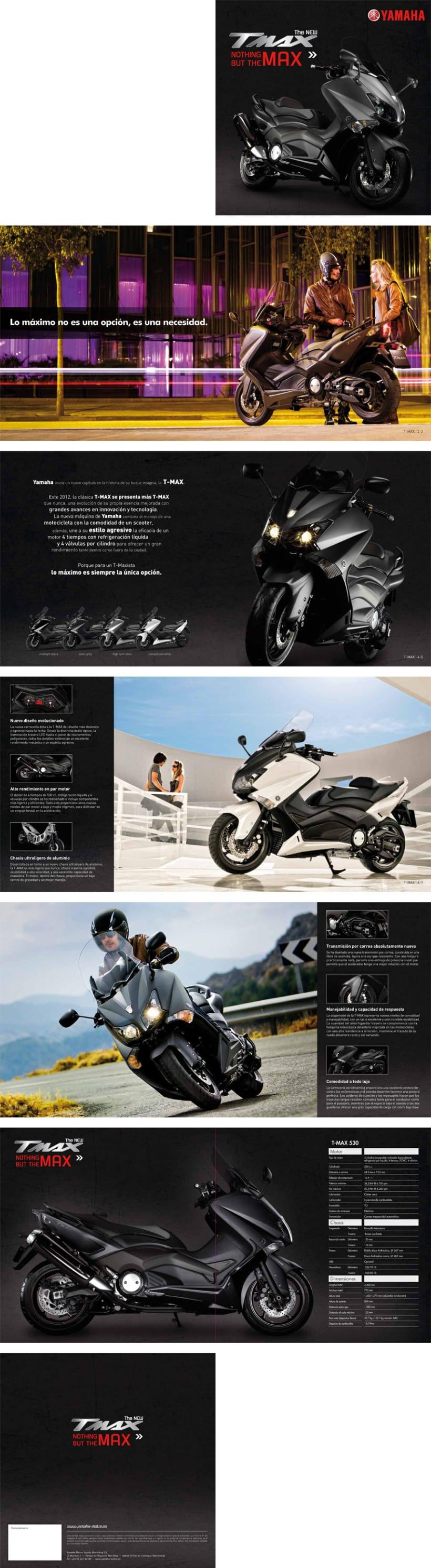 Yamaha T-MAX 2012 / Lanzamiento 1