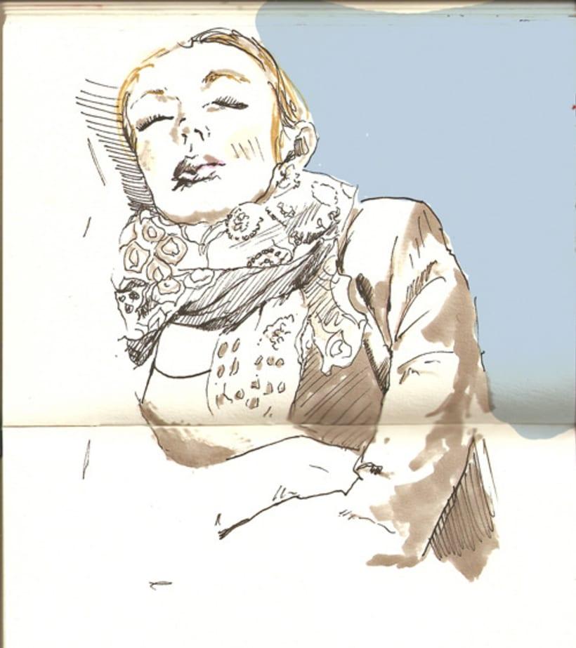 Journeys, ilustraciones hechas en el tren 4