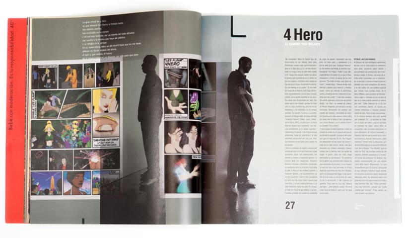 Art direction and layout Nochemania Magazines 5
