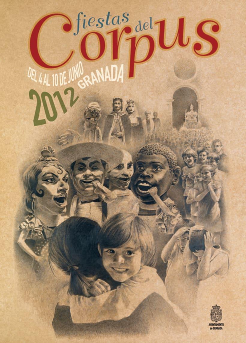 cartel corpus granada 2012 2