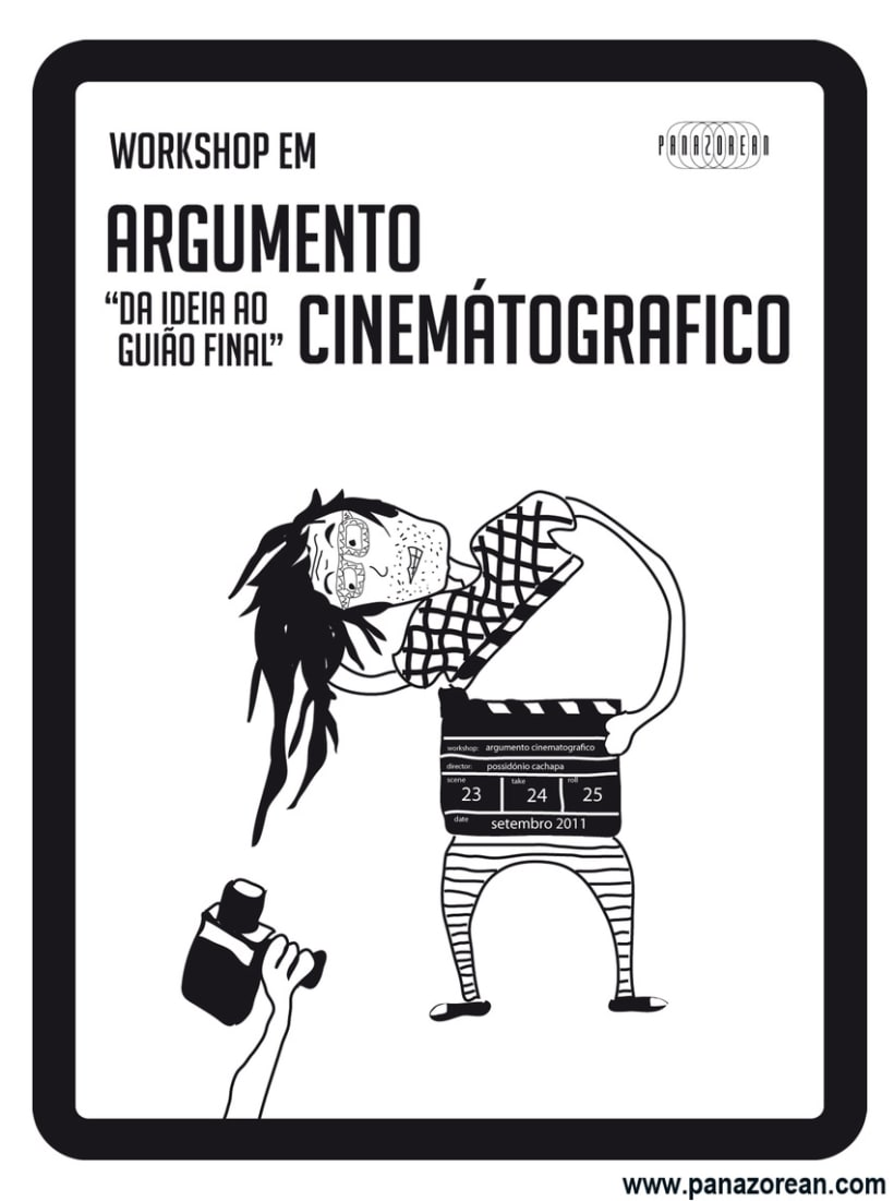 Póster Workshop Guión Cinematográfico 1