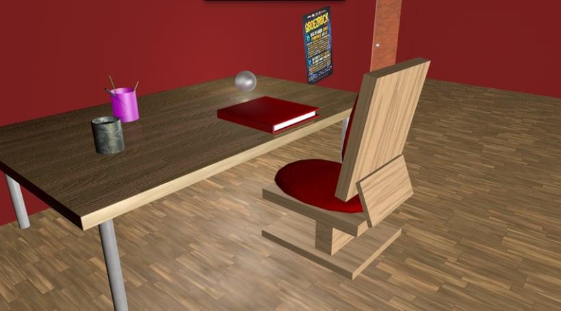 Bedroom 3D 8