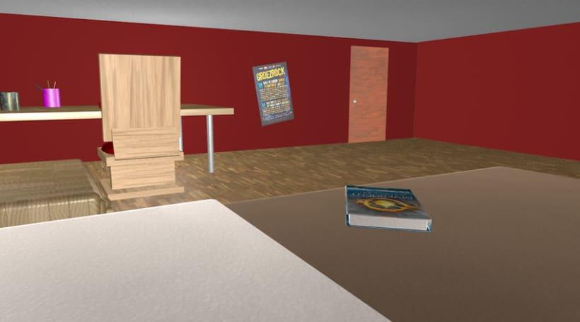 Bedroom 3D 7
