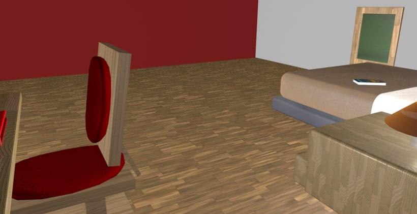 Bedroom 3D 6