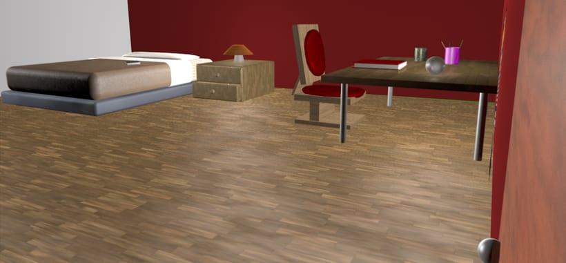 Bedroom 3D 3