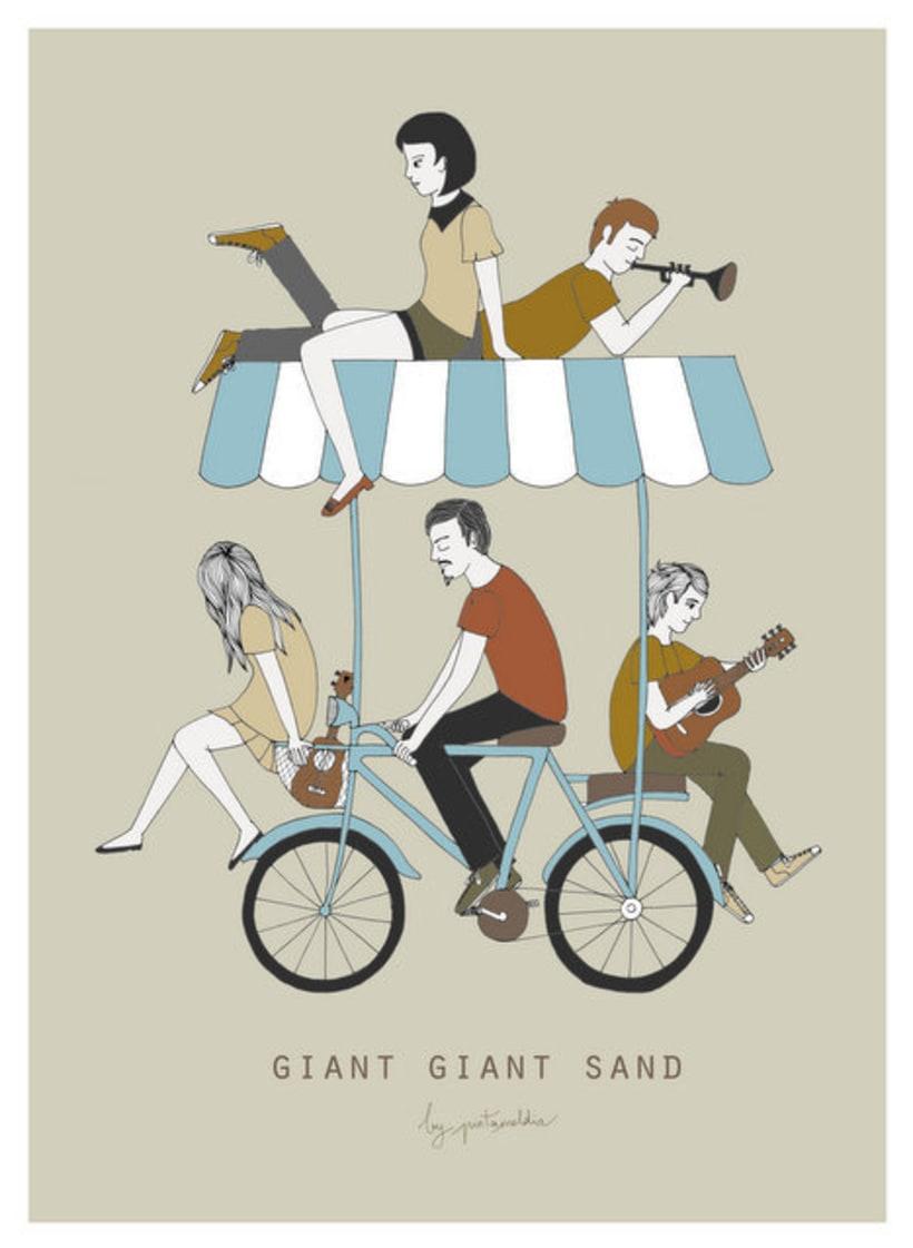Giant Giant Sand tour poster 2