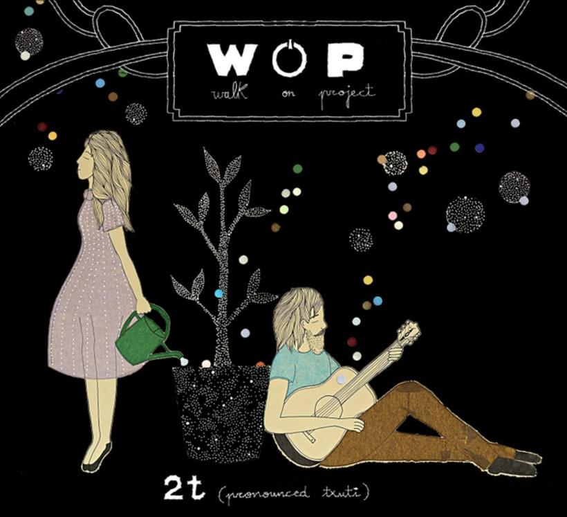 Diseño de álbum. WOP. 1