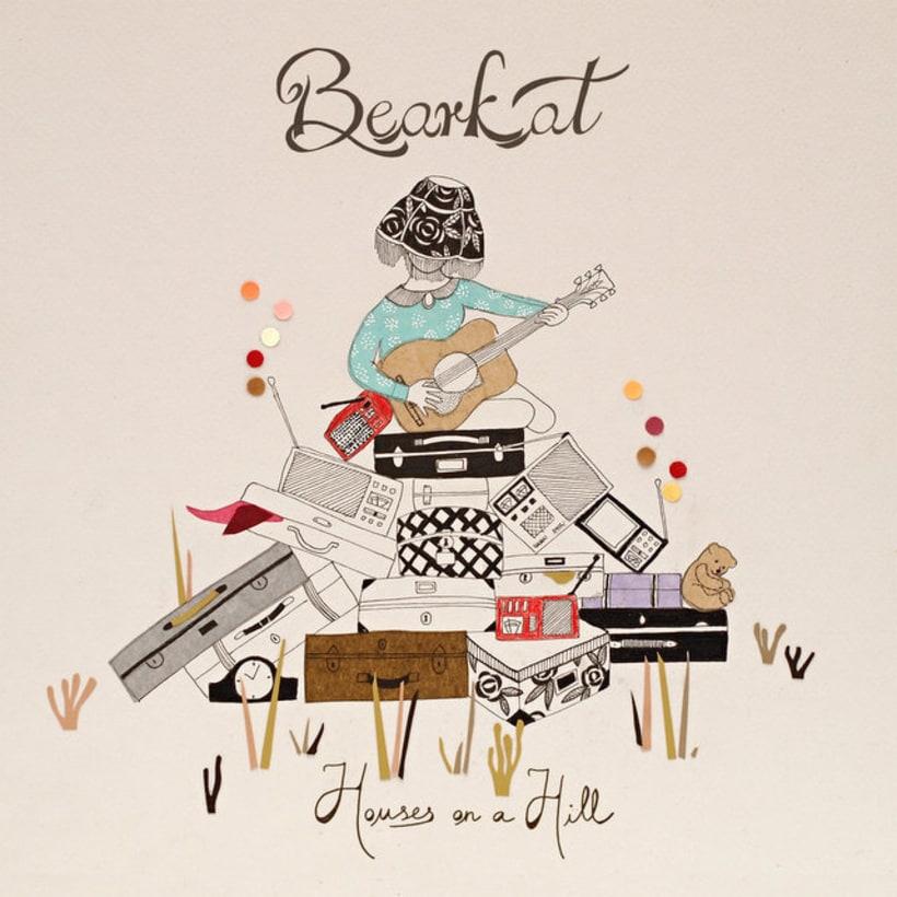 Bearkat. Diseño de álbum. 1