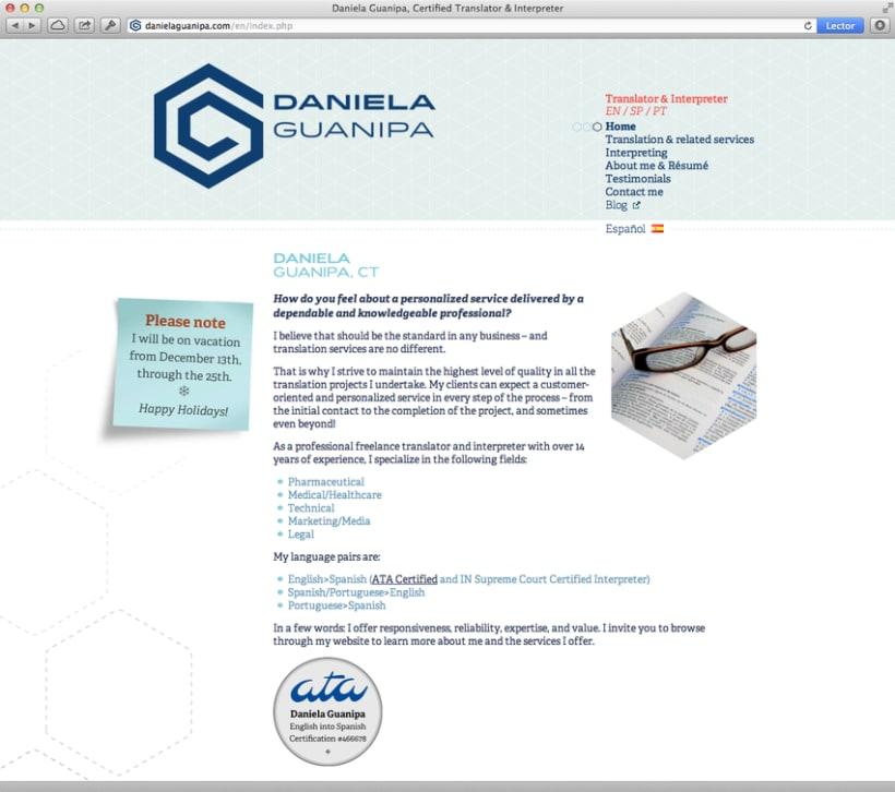 Daniela Guanipa, traductora 10