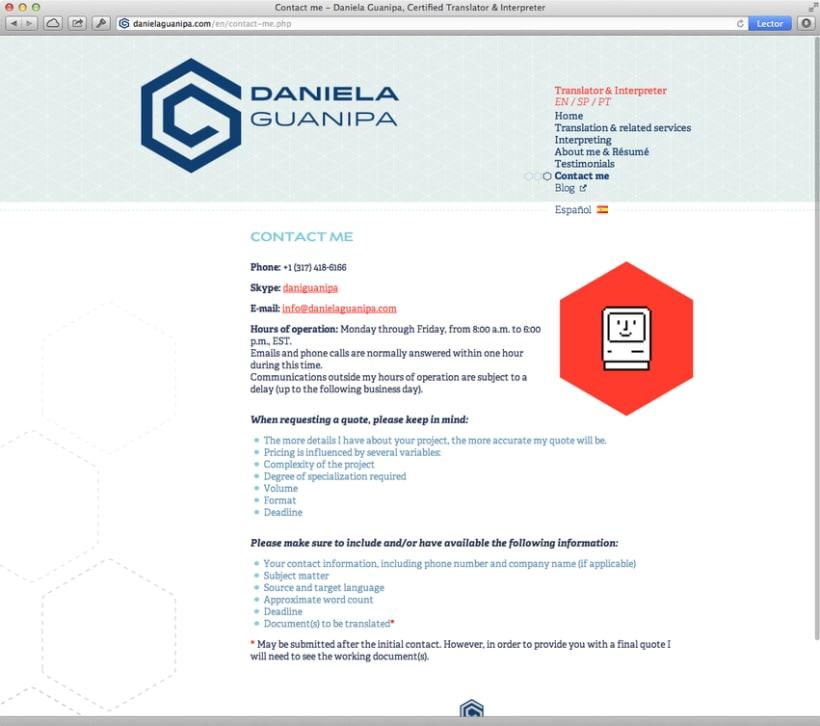 Daniela Guanipa, traductora 12