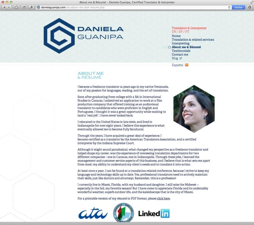 Daniela Guanipa, traductora 11