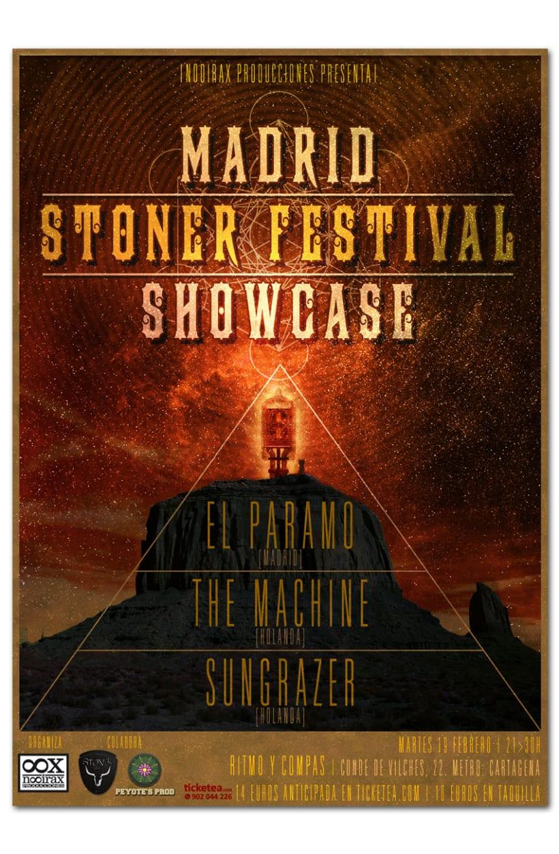 MADRID STONER FESTIVAL 2013 | poster 1