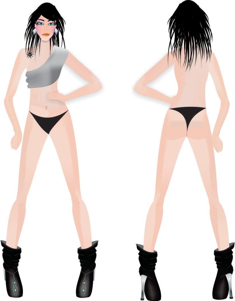 diseño de figurines 11